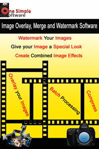 image overlay merge and watermark